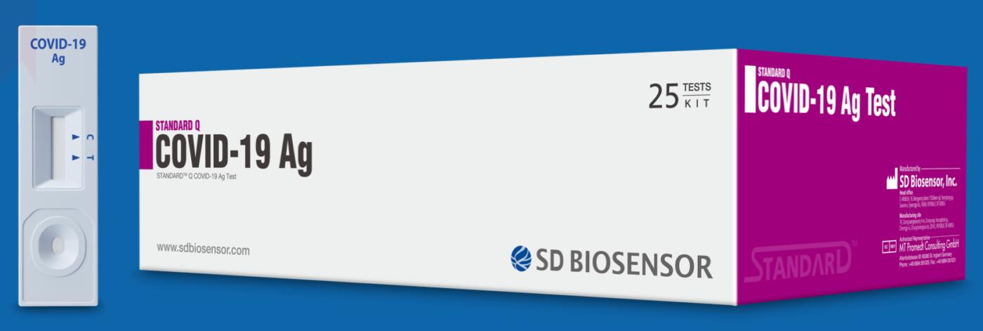 SD Biosensor de antígeno Ag para COVID-19