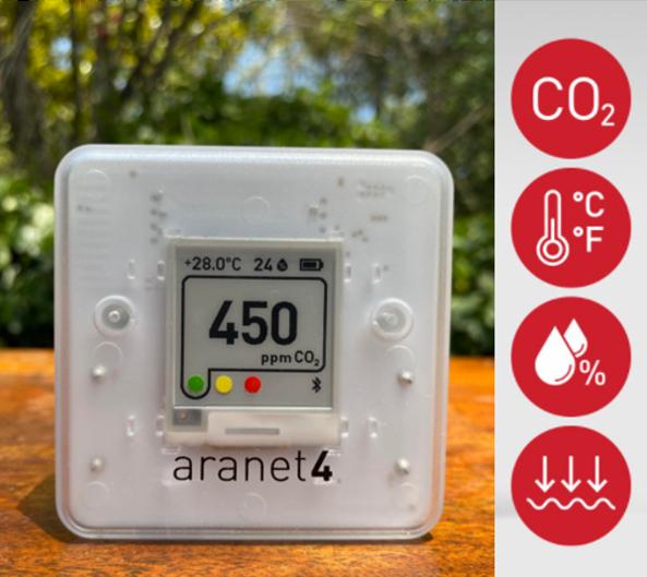 Sensor CO2 Aranet